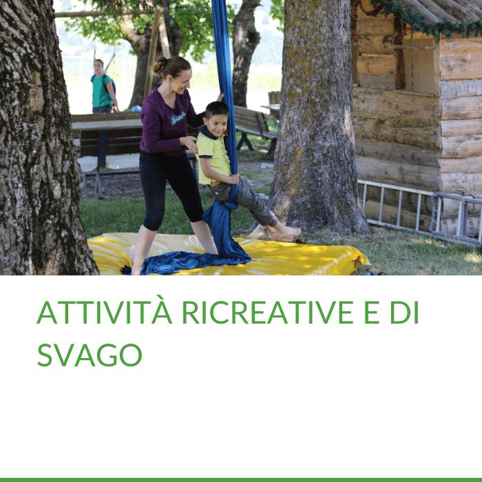 Camp estivo in Trentino con attività ricreative