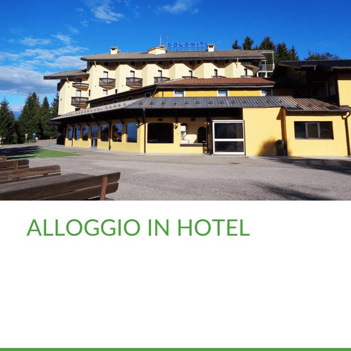 Camp Trentino alloggio in hotel